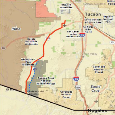 Sierrita Natural Gas Pipeline Controversy In Altar Valley