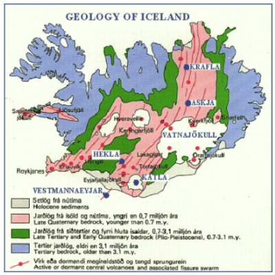Volcanology of Iceland  Wikipedia